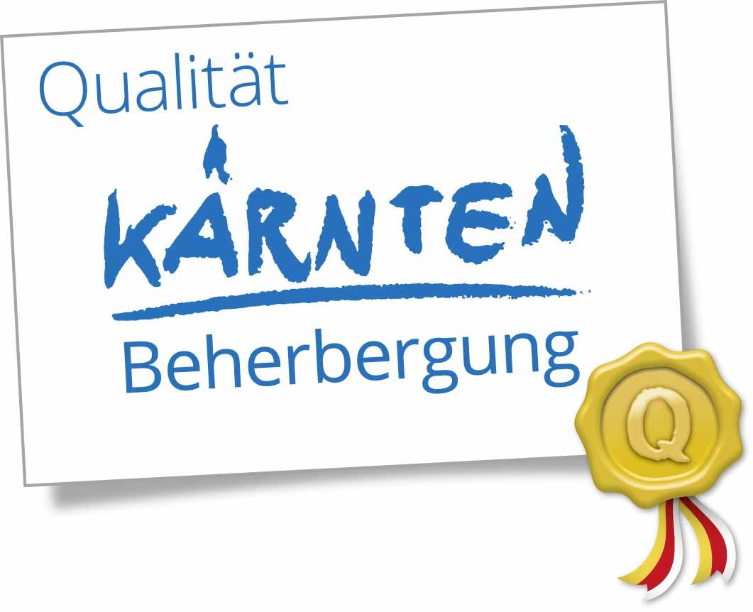 Kärnten Beherbergung Qualitätssiegel